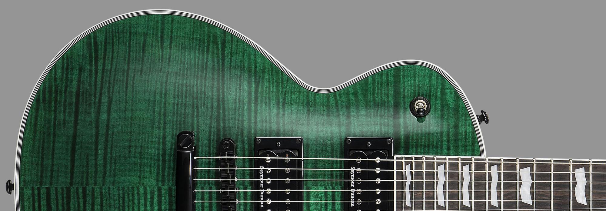 ESP LTD EC-1000 See-Thru Green