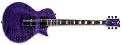 ESP LTD EC-1000 See-Thru Purple