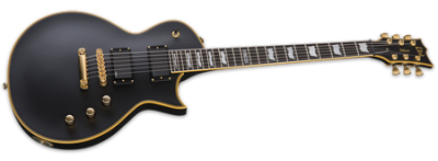 ESP LTD EC-1000 EMG Black Satin