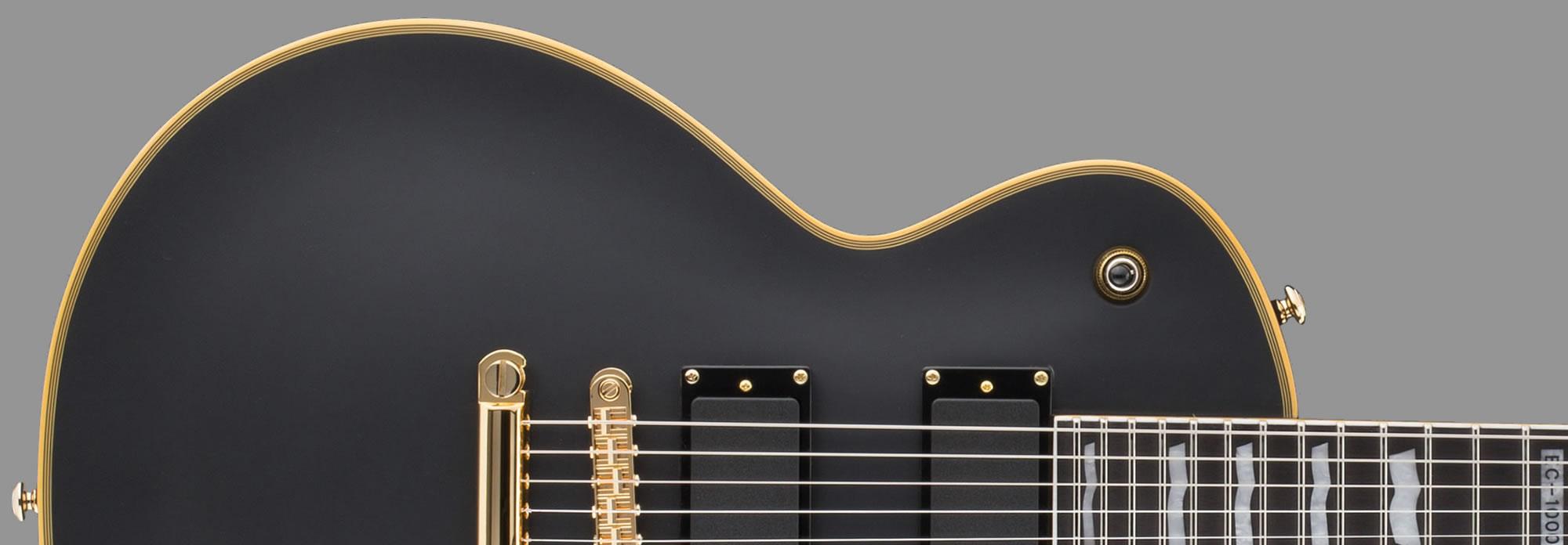 ESP LTD EC-1000 Vintage Black EMG