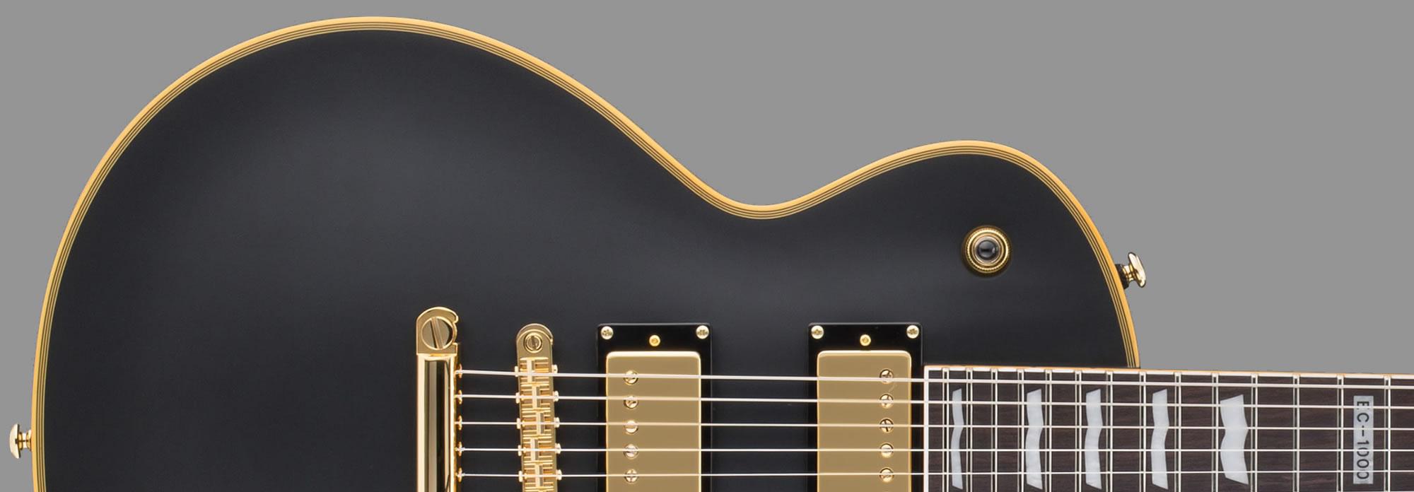 ESP LTD EC-1000 Vintage Black Seymour Duncan