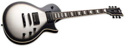 ESP LTD EC-1001 CTM Silver Sunburst Satin
