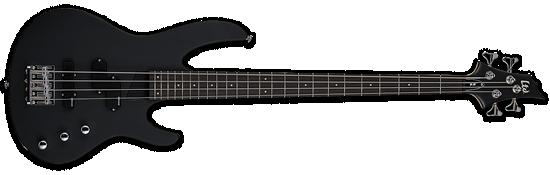 LTD B-10 Black Satin