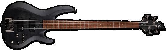 LTD B-204SM See-Thru Black Satin