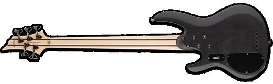 ESP LTD B-205SM See-Thru Black Satin