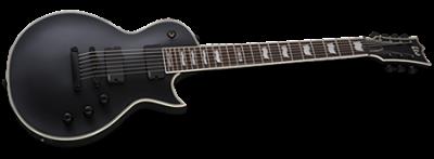LTD EC-407 Black Satin