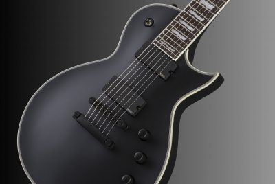 LTD EC-407 Black Satin