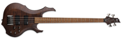 ESP LTD F-204FM Walnut Brown Satin