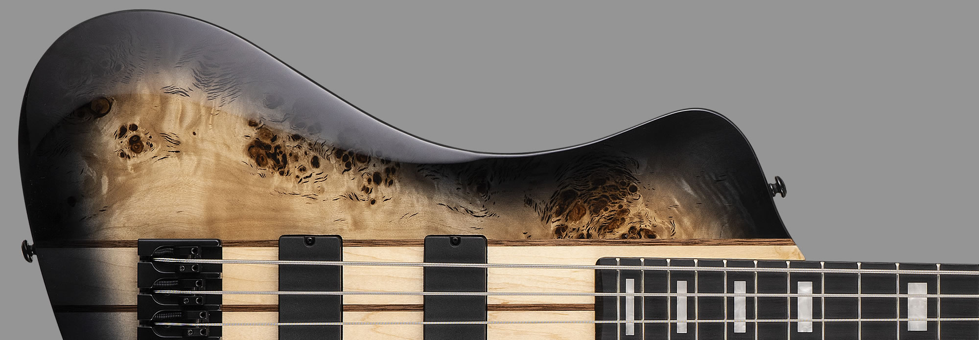 LTD Stream-1004 Black Natural Burst