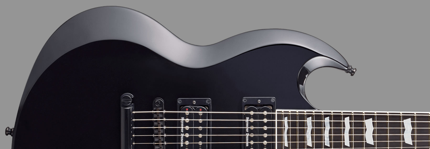 ESP Viper Set Neck Black