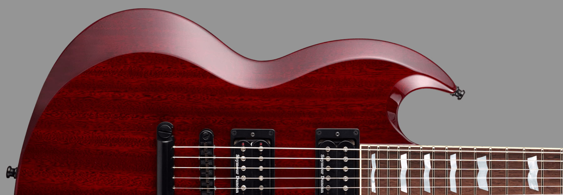 ESP Viper Set Neck Cherry