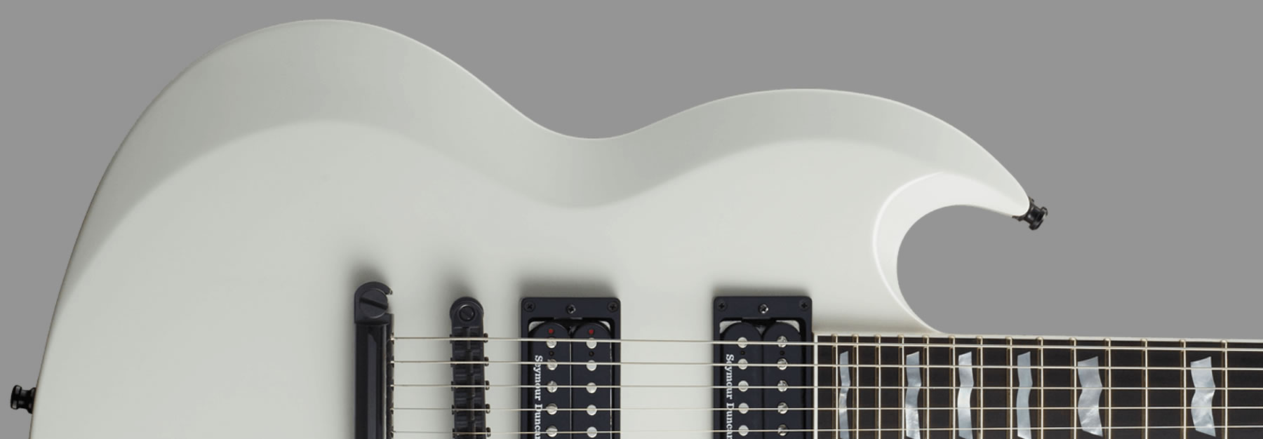 ESP Viper Set Neck Snow White