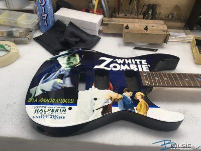 ESP Custom KH White Zombie