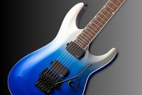ESP LTD MH-400FR Blue Pearl Fade Metallic