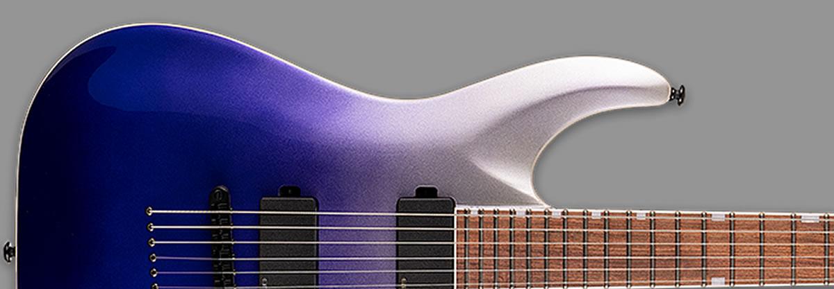 ESP LTD MH-400NT Violet Pearl Fade Metallic