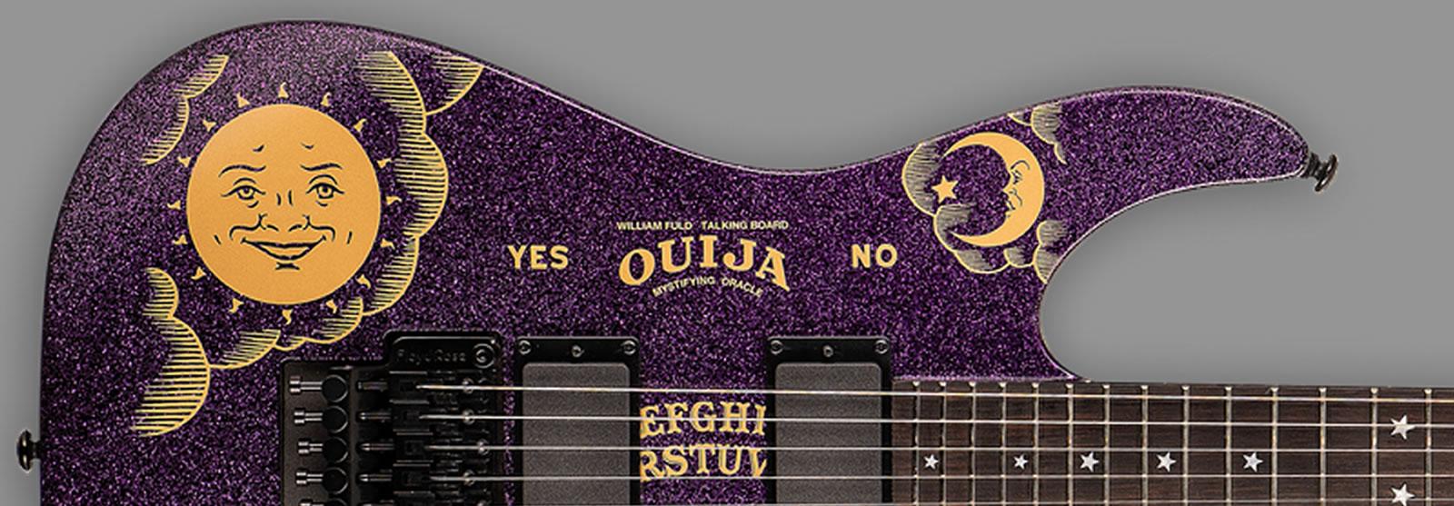 ESP LTD Kirk Hammett KH Ouija Purple Sparkle