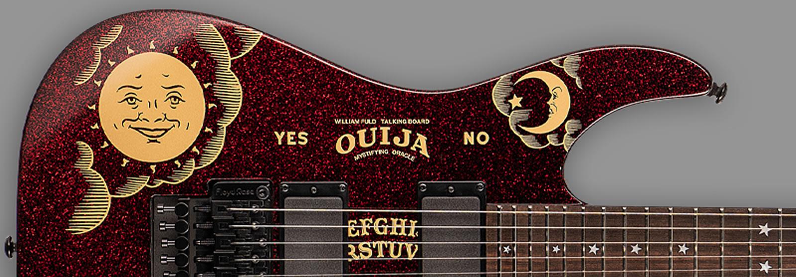 ESP LTD Kirk Hammett KH Ouija Red Sparkle