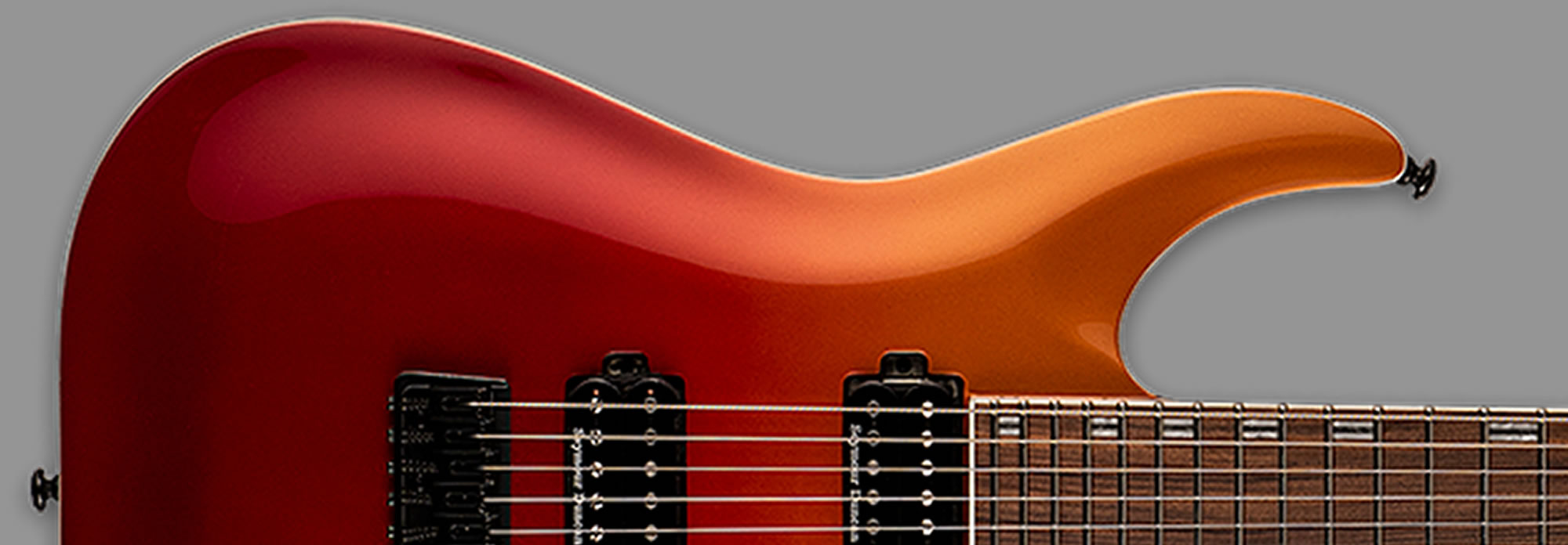 ESP LTD H-440 Crimson Fade Metallic