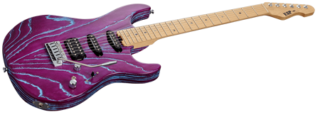 ESP Driftwood Series Snapper-AS/M-BR Indigo Purple with Blue Filler