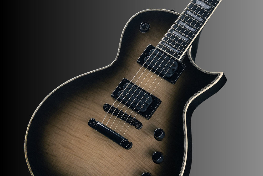 LTD EC-1000T Black Natural Burst