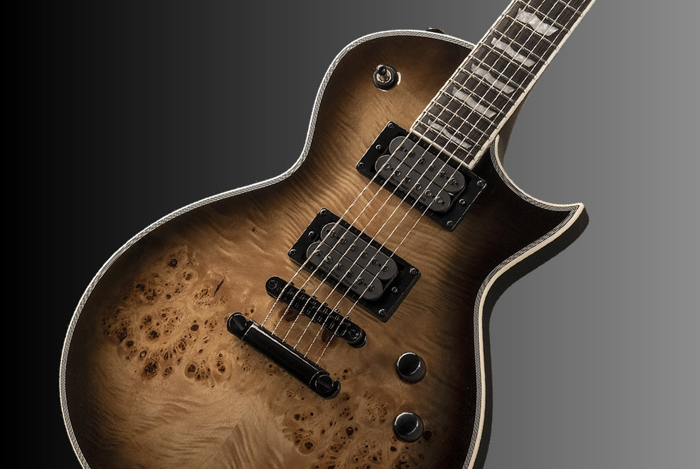 LTD EC-1000 Black Natural Burst